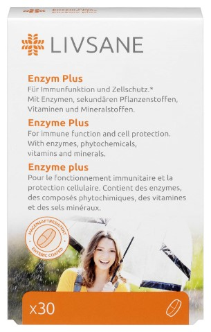 LIVSANE Enzymy Plus tbl.30 Image
